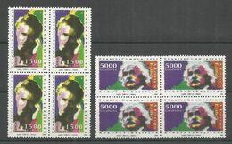 4x TURKEY - MNH - Europa-CEPT - Famous People - 1994 - 1994