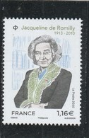 FRANCE 2020 JACQUELINE DE ROMILLY NEUF YT 5380 - Neufs