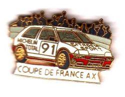 Pin's Citroën Coupe De France AX EGF  Démons Et Merveilles - Citroën