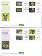 Ireland. Scott # ? FDC Set Of 2 Covers. Fauna & Marine Life ATM Stamps. 2012 - Marine Life