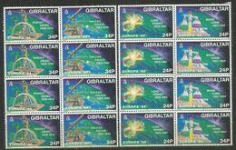 4x GIBRALTAR - MNH - Europa-CEPT - Sciences - 1994 - 1994