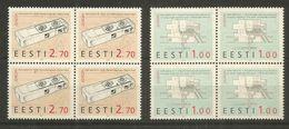 4x ESTONIA - MNH - Europa-CEPT - Architecture - 1994 - 1994