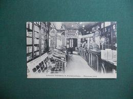 CPA LIBRAIRIE IMPRIMERIE THIBAULT FONTAINEBLEAU INTERIEUR MAGASIN ETRENNES 1908 CIRCULE 1908 PETIT PLI BAS DROIT - Fontainebleau