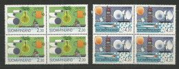 4x FINLAND - MNH - Europa-CEPT - Sciences - 1994 - 1994