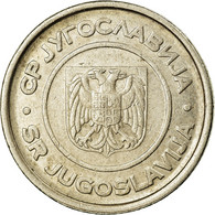 Monnaie, Yougoslavie, 2 Dinara, 2002, Belgrade, TTB, Copper-Nickel-Zinc, KM:181 - Yugoslavia