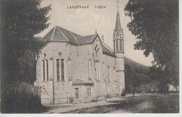 CPA Lasauvage - L'église - Cartes Postales