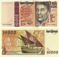 PORTUGAL10000 ESCUDOS CH.2, P191 - 10/07/1997, UNC - Portugal