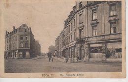 CPA Esch-sur-Alzette - Rue Adolphe-Emile (avec Petite Animation) - Esch-sur-Alzette