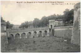 33 BLAYE - Les Remparts De La Citadelle Vus Du Champ De Manoeuvre - Blaye