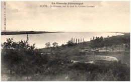 33 BLAYE - La Gironde, Vue Du Haut Du Chateau Caribert - Blaye