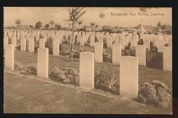 RENINGHELST  NEW MILITARY CEMETERY - Guerra 1914-18