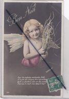 """Bon Noël : Ange ,Pour Les Enfants Méchants,Noël,N'a Que Des Verges,des Reproches....(Signé """"Le Normand"""") - Weihnachten"""