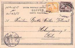 ÄGYPTEN - ANSICHTSKARTE 1904 ALEXANDRIA-CÖLN /ak521 - Ägypten