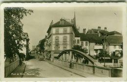 SWITZERLAND -  PONT DE VILLE - PAYERNE - EDITION J. LIVET - 1950s (BG9031) - FR Fribourg