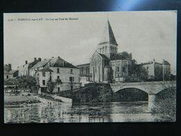 MAREUIL SUR LAY                         LE LAY AU PONT DE MAREUIL - Mareuil Sur Lay Dissais