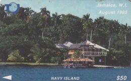 JAMAICA(GPT) - Navy Island, CN : 75JAMB(Ltl, Normal 0), Used - Giamaica