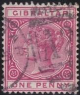Gibraltar     .    SG        .   9       .    O     .   Oblitéŕé    .   /    .    Cancelled - Gibraltar