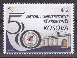 Kosovo 2020 50th Anniversary Of The University Of Prishtina Buildings Architecture Stamp MNH - Kosovo