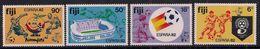Fiji 1982 QE2 Set World Cup Football Champions Umm SG 636 - 639 ( J1115 ) - Fiji (...-1970)
