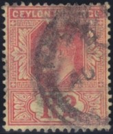 Ceylon     .    SG        .    298      .         O      .     Oblitéré    .   /    .  Cancelled - Ceylon (...-1947)
