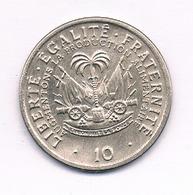 10 CENTIMES 1975 HAITI /5607/ - Haïti