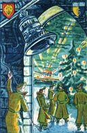België Kerstfeest Nieuwjaar Noel Nouvel An Carte Vœux Régiment Militaire Militair Wenskaart 1950 Belgique Belgium - Non Classificati