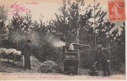05 - RECOLTE DES LAVANDES - DISTILLATION EN PLEIN AIR - France