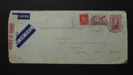 AUSTRALIA POSTAL COVER FRONT SHEET POSTMARK  SYDNEY PASSED BY CENSOR S113 - Australia