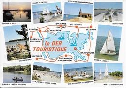 CPM LE DER TOURISTIQUE - Francia