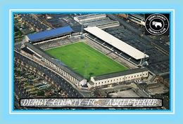 CARTE De Stade De: DERBY  COUNTY  ANGLETERRE  BASEBALL GROUND  # REFERENCE . D.M. 026 - Soccer