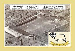 CARTE De Stade De: DERBY  COUNTY  ANGLETERRE  BASEBALL GROUND  # REFERENCE . D.M. 027 - Soccer