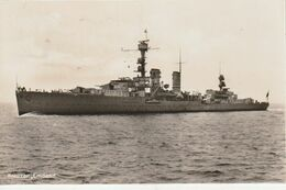"Kreuzer ""Emden"" / 1937 / AK (CD77) - Warships"