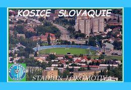 CARTE De Stade De: KOSICE  SLOVAQUIE  STADION  LOKOMOTIVA   # REFERENCE . D.M. 028 - Soccer