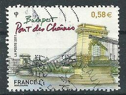 FRANCIA 2011 - YV 4539 - Cachet Rond - Francia