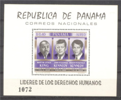 Panama 1968, Kennedy, M. Luther King, BF - Martin Luther King