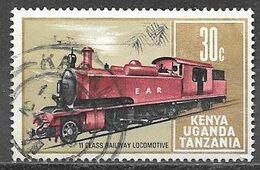 1971 Locomotive, 30 Cents, Used - Kenya, Uganda & Tanganyika