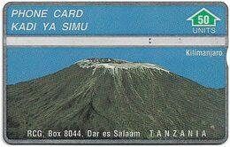 Tanzania - RCG - L&G - Mount Kilimanjaro Mountain - 302A - 1993, 50U, Used - Tanzania