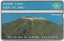Tanzania - RCG - L&G - Mount Kilimanjaro Mountain - 430A - 1994, 50U, Used - Tanzania
