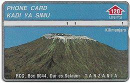 Tanzania - RCG - L&G - Mount Kilimanjaro Mountain - 410A - 1994, 120U, Used - Tanzania