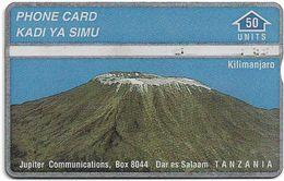 Tanzania - Jupiter Comm. - L&G - Mount Kilimanjaro Mountain - 607A - 1996, 50U, Used - Tanzania