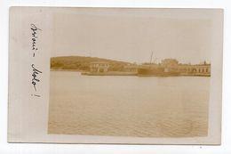 1909. AUSTRIA, ITALY, CROATIA, BRIONI ISLAND TO GMUND, BRIONI PORT,  SHIPS, ILLUSTRATED POSTCARD,USED - Other