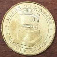 TOMBEAU DE NAPOLÉON 70007 PARIS MUSÉE DE L'ARMÉE MÉDAILLE MONNAIE DE PARIS 2010 JETON TOURISTIQUE TOKENS MEDALS COINS - Monnaie De Paris