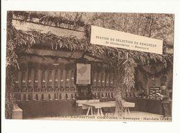 Doubs Besançon Foire Exposition Comtoise Besançon Mai Juin 1924 Station De Sélection De Semences De Chateaufarine TBE - Besancon