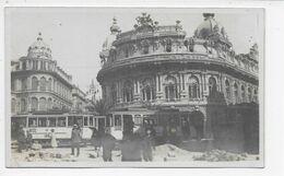 Genova - Un-captioned Photographic Card (Piazza Ferrari) - Genova (Genoa)