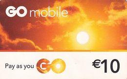 MALTA - GO Prepaid Card 10 Euro, Used - Malta