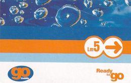 MALTA - GO Mobile Prepaid Card Lm 5, Used - Malta