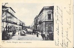 BRASIL; RIO GRANDE DO SUL; SWEDEN: Postcard PORTO ALEGRE - Porto Alegre
