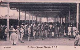 Kenya, Nairobi, Railway Station (16) - Kenia