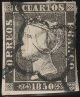 1850. º Edifil: 1A. ISABEL II - 1850-68 Königreich: Isabella II.