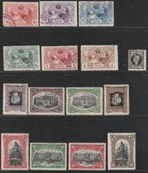 (1907ca). */º Edifil: 240, SR1/6, FR11/18. IMP GUERRA, INDUSTRIAS DE MADRID Y III CENT MUERTE CERVANTES - 1889-1931 Reino: Alfonso XIII